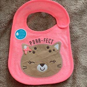 "Baby girl cat big ""purr-fect"""
